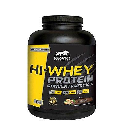 Hi Whey Protein 1,8kg Leader Nutrition