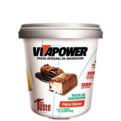 Pasta de Amendoim Press Cream 1,005kg VitaPower