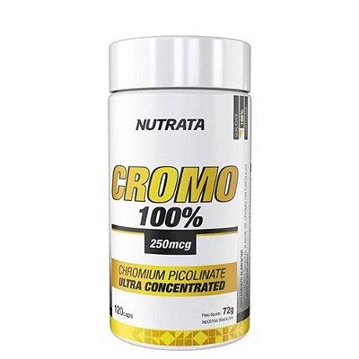 Picolinato de Cromo 100% 250MCG 120 Caps Nutrata