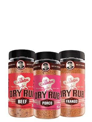 Combo Dry Rub Bruno Panhoca (150g Cada) De Cabrón