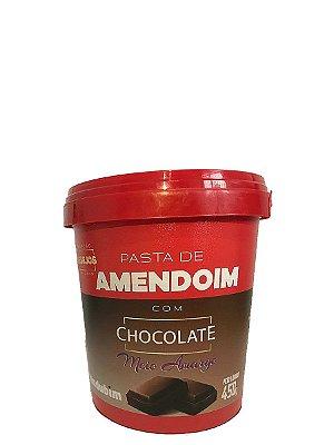 Pasta de Amendoim Chocolate Meio Amargo 450g Mandubim
