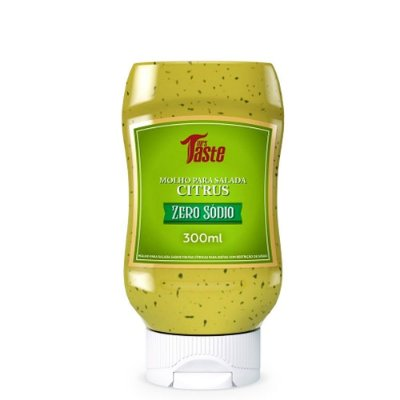 Molho Para Salada Citrus 300ml Mrs Taste