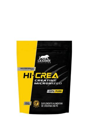 Hi-Crea Creatine Micronized 500g Leader Nutrition