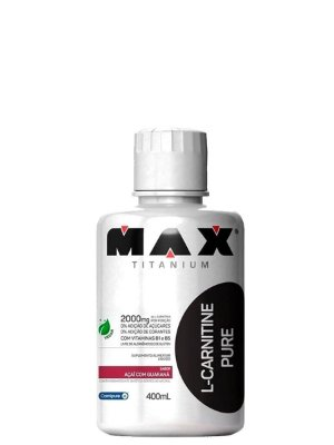 L-Carnitine Pure 400ml Max Titanium