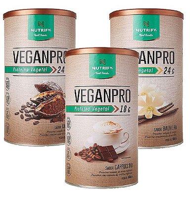 VeganPro 550g Proteína Vegetal Nutrify