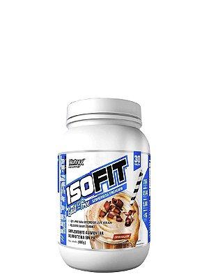 Whey Protein Isofit 900g Nutrex + Bcaa Drops 150 Tabs New Millen de Brinde