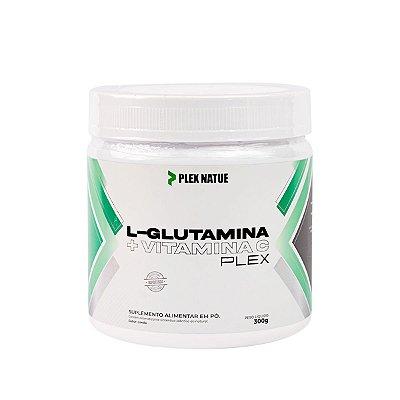 L-Glutamina + Vitamina C 300g Plex Natue