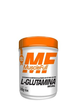 L-Glutamina Natural 300g Muscle Full