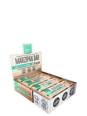 Barra de Proteína Marzipan Bar 25g (Caixa c/ 12 unid) Nutrify