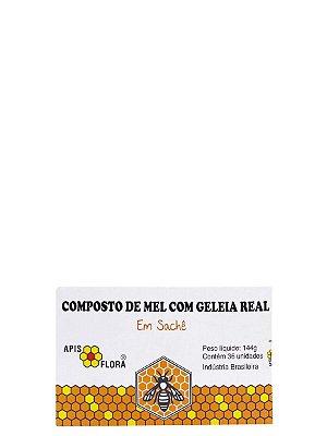 Mel com Geleia Real em sache 144g 36 unidades