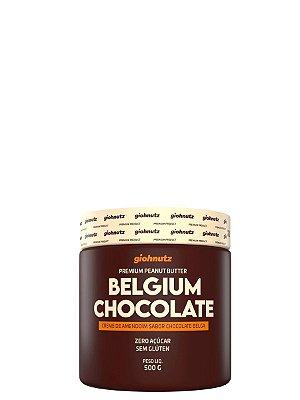 Creme de Amendoim Belgium Chocolate - 500gr Giohnutz