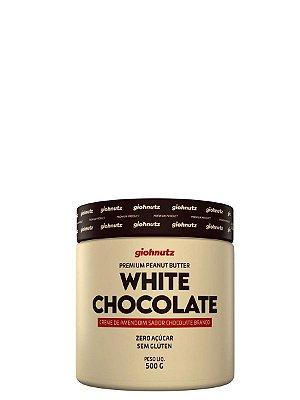 Creme de Amendoim White Chocolate - 500gr Giohnutz