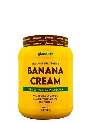 Creme de Amendoim Banana Cream- 1kg Giohnutz