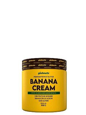 Creme de Amendoim Banana Cream - 500gr Giohnutz