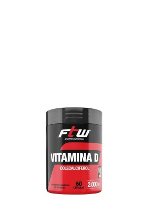 Vitamina D3 2.000 UI 60 caps - FTW