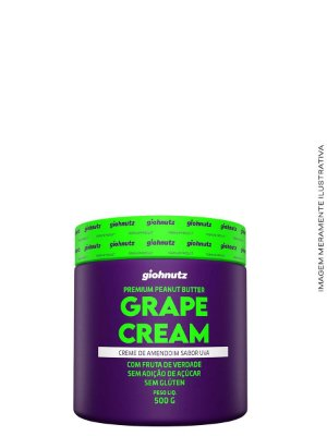 Creme de Amendoim Grape Cream - 500gr Giohnutz