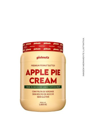 Creme de Amendoim Apple Pie Cream- 1kg Giohnutz
