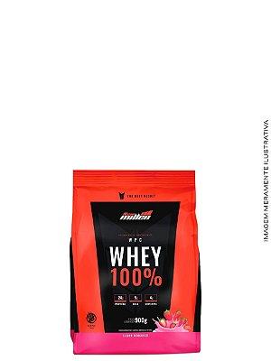 Whey 100% Refil Baunilha 900g - New Millen
