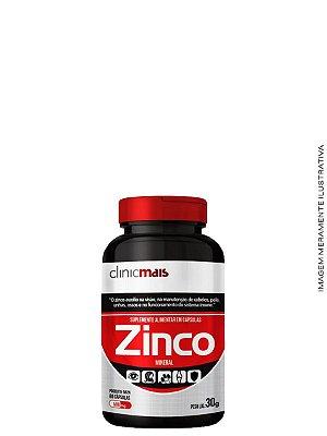 Zinco 60 caps 30g - Clinicmais