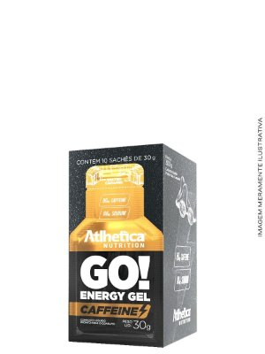 Go! Energy Gel Caffeine (Display com 10 saches de 30g )- Atlhetica