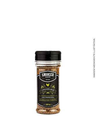 Dry Rub Chicken Rub 220 g - Canta Gallo