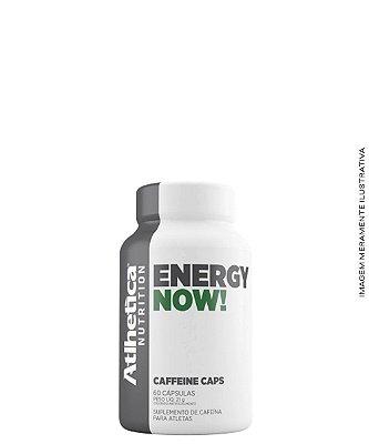 Energy Now! 60 caps Pré Treino - Atlhetica