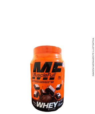 Whey Protein 100% Concentrado  810g - Muscle Full