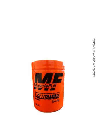 L-Glutamina Natural (com Maltodextrina) 300g - MUSCLE FULL