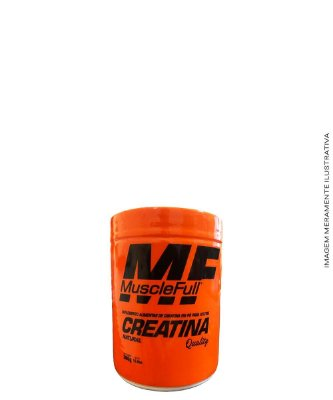 Creatina Natural (com Maltodextrina) 300g - MUSCLE FULL