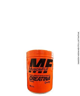 Creatina Natural (com Maltodextrina) 300g - MUSCLE FULL