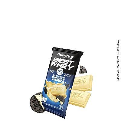 Barra de Proteína Best whey Chocolate Proteico 25g - Atlhetica Nutrition