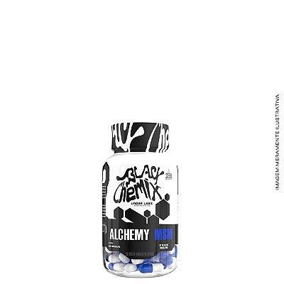 Alchemy MSM 60 Caps Enxofre Orgânico Importado - Under Labz