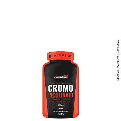 Picolinato de Cromo 60 Caps Redutor de Apetite - New Millen