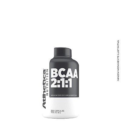 Bcaa 2:1:1 (200 Caps) - Atlhetica Nutrition