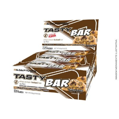 Tasty Bar 51g Barra de Proteína 12uni - Adaptogen