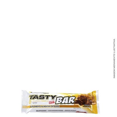 Barra de Proteína Tasty Bar 51g - Adaptogen Science