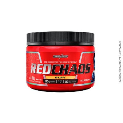 Termogênico Red Chaos Burn 150g - Integralmedica