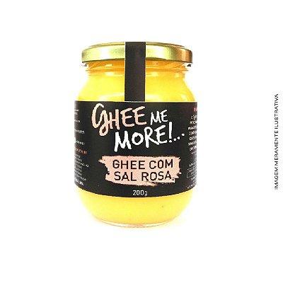 Ghee Me More com Sal Rosa 200g - Ghee