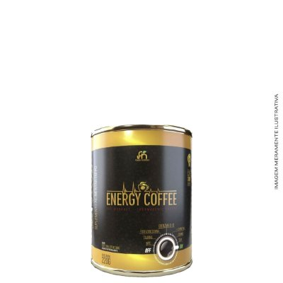 Termogênico Energy Coffee 220g - Foods Nutrition