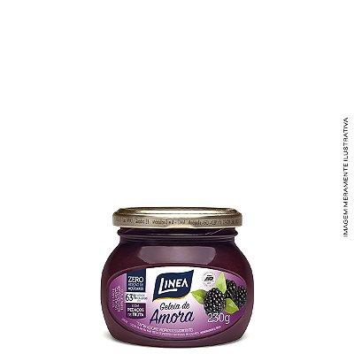 Geleia Diet de Amora Zero Açúcar 230g - Linea