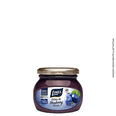 Geleia Diet de Blueberry (Mirtilo) Zero Açúcar 230g - Linea