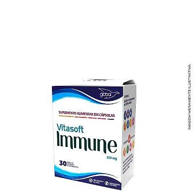 Polivitamínico Vitasofit Immune 30 Cáps - Global Suplementos
