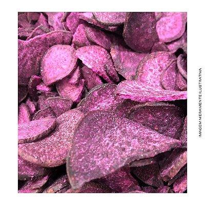 Batata Chips Doce Roxa