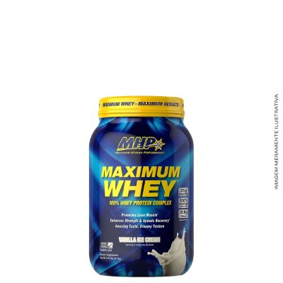 Maximum Whey 915g Whey 3W - MHP