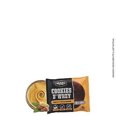 Cookie de Whey sabor Chocolate com Pasta de Amendoim  80g - Prado Protein
