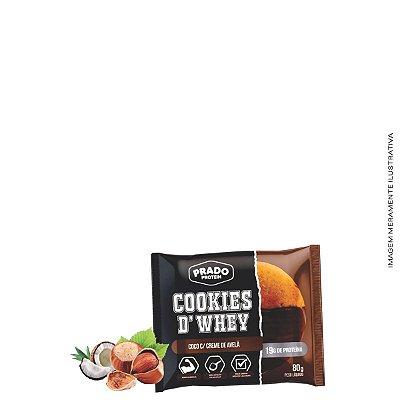 Cookie de Whey sabor Coco com Creme de Avelã 80g - Prado Protein
