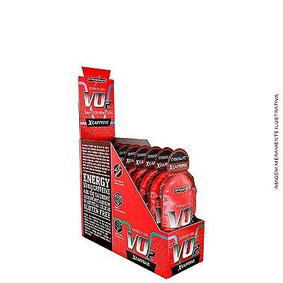 Vo2 Energy Gel 30g com Cafeína caixa c/ 10 uni - Integralmedica