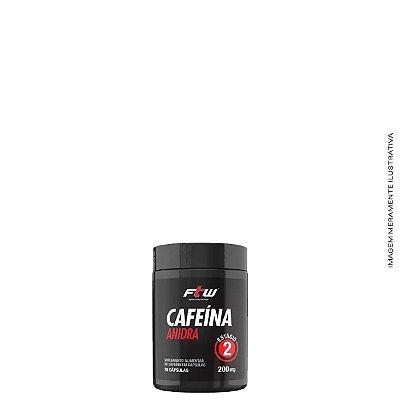 Cafeína Anidra 30 cáps - FTW