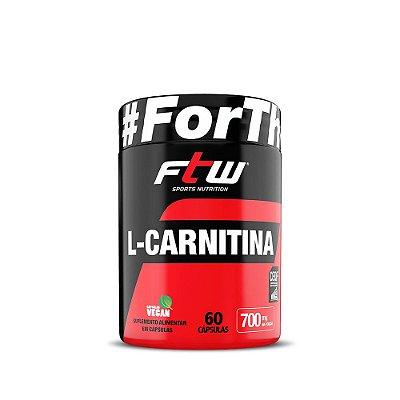 L-Carnitina 700mg 60 caps - FTW