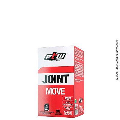 Joint Move Para articulações Colágeno Ácido Hialurônico Magnésio 90 caps - FTW